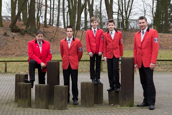 Gruppenfoto Schlagzeug 2013